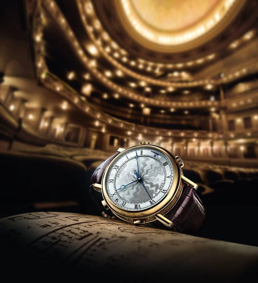 Breguet Classique « La Musicale » 7800 pays tribute to Rossini