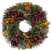 Found it at Wayfair - Fall into Winter Wreath