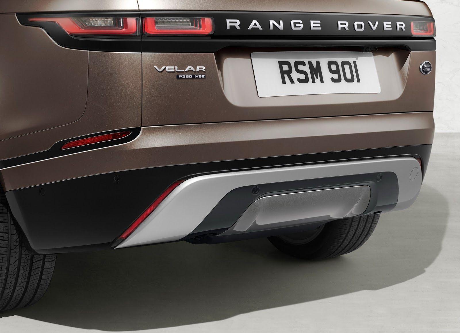2018 range rover velar fully revealed priced from 49 900 117 photos