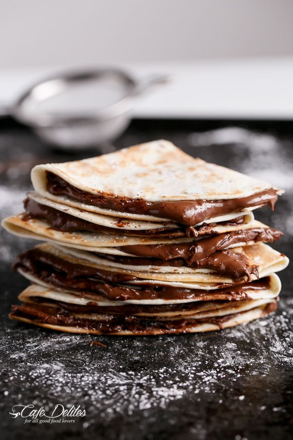 Simple Nutella Quesadillas - In under 5 minutes!