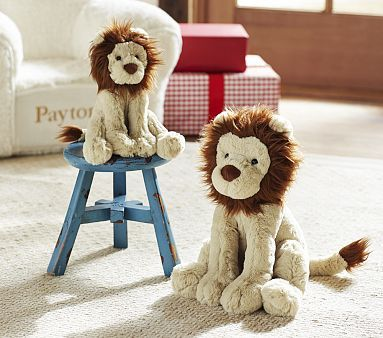 Pottery Barn Kids Lion Plush Leo In Small 20 Or Medium