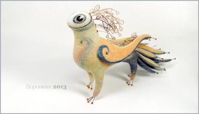"Master class for creating felted critters ""Mistress Summer Days"" - Fair Masters - handmade, handmade"