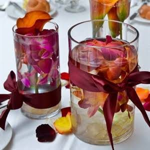 Orchid and Calla Lily Centerpieces