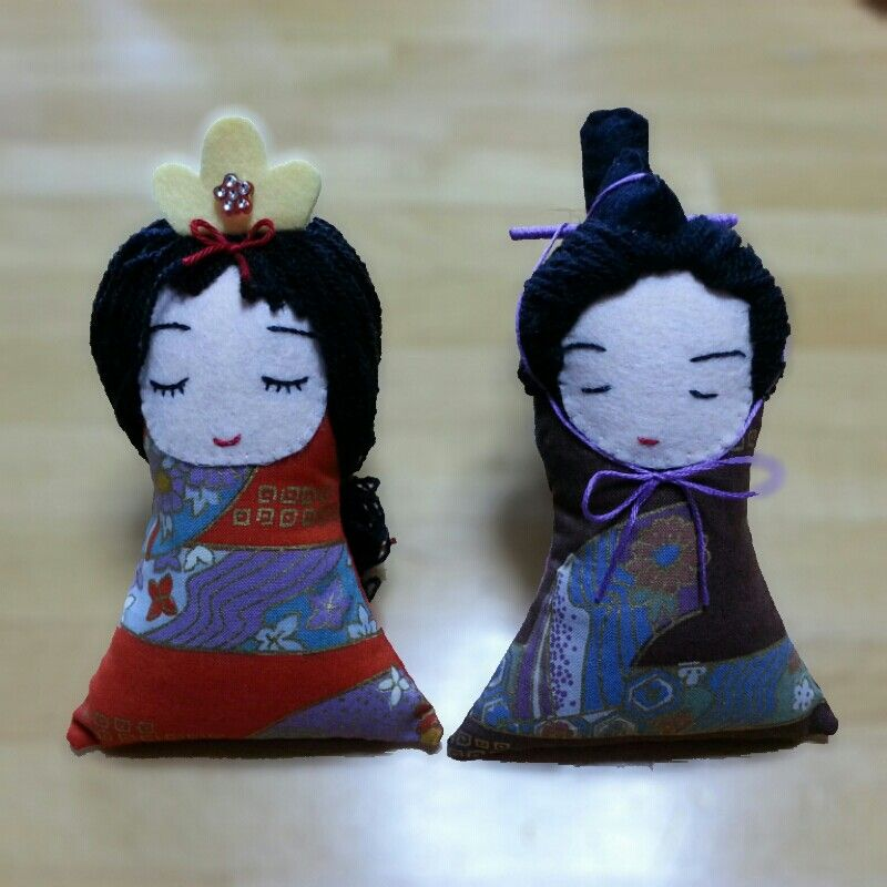 Japanese Dotee Doll