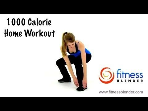 fitness blenders 1000 calorie workout at homehiit cardio