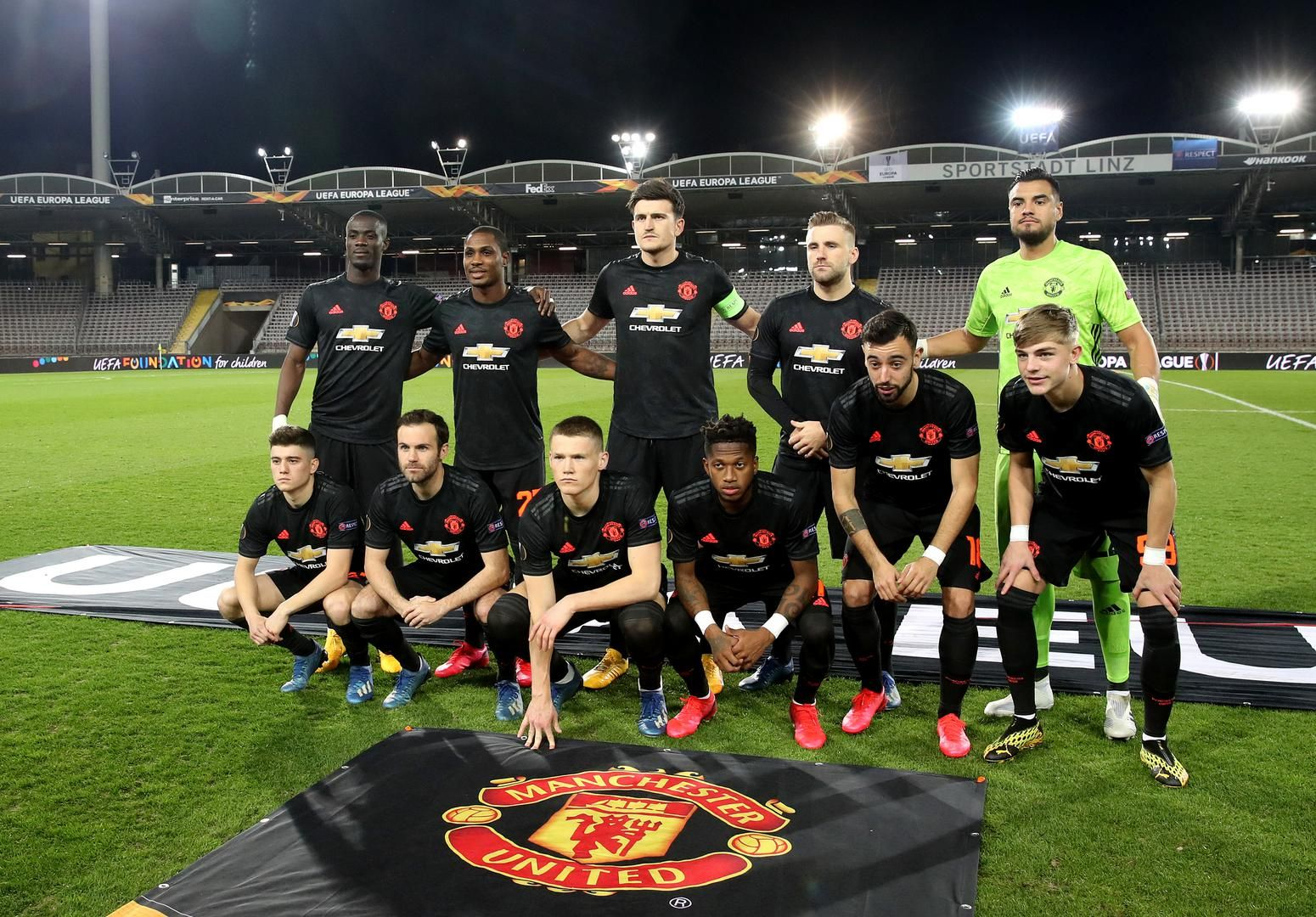 Match Pics From Lask V Man United In Europa League Manchester United In 2020 Europa League Man United League