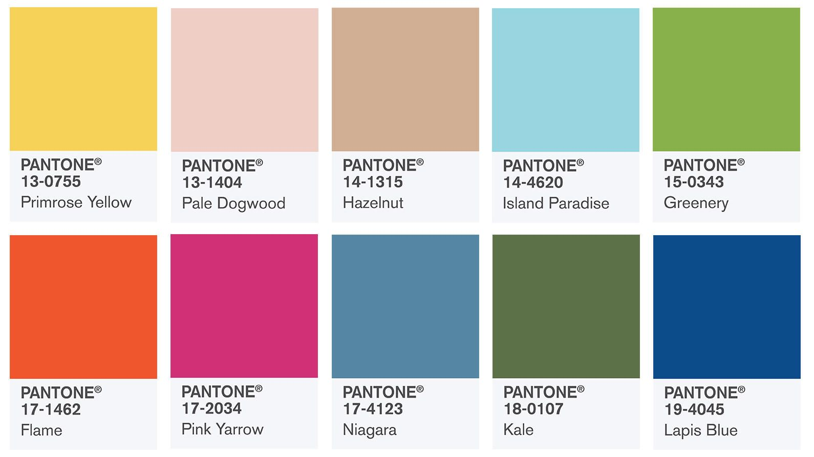 pantone farben 2017 island paradise pale dogwood und co