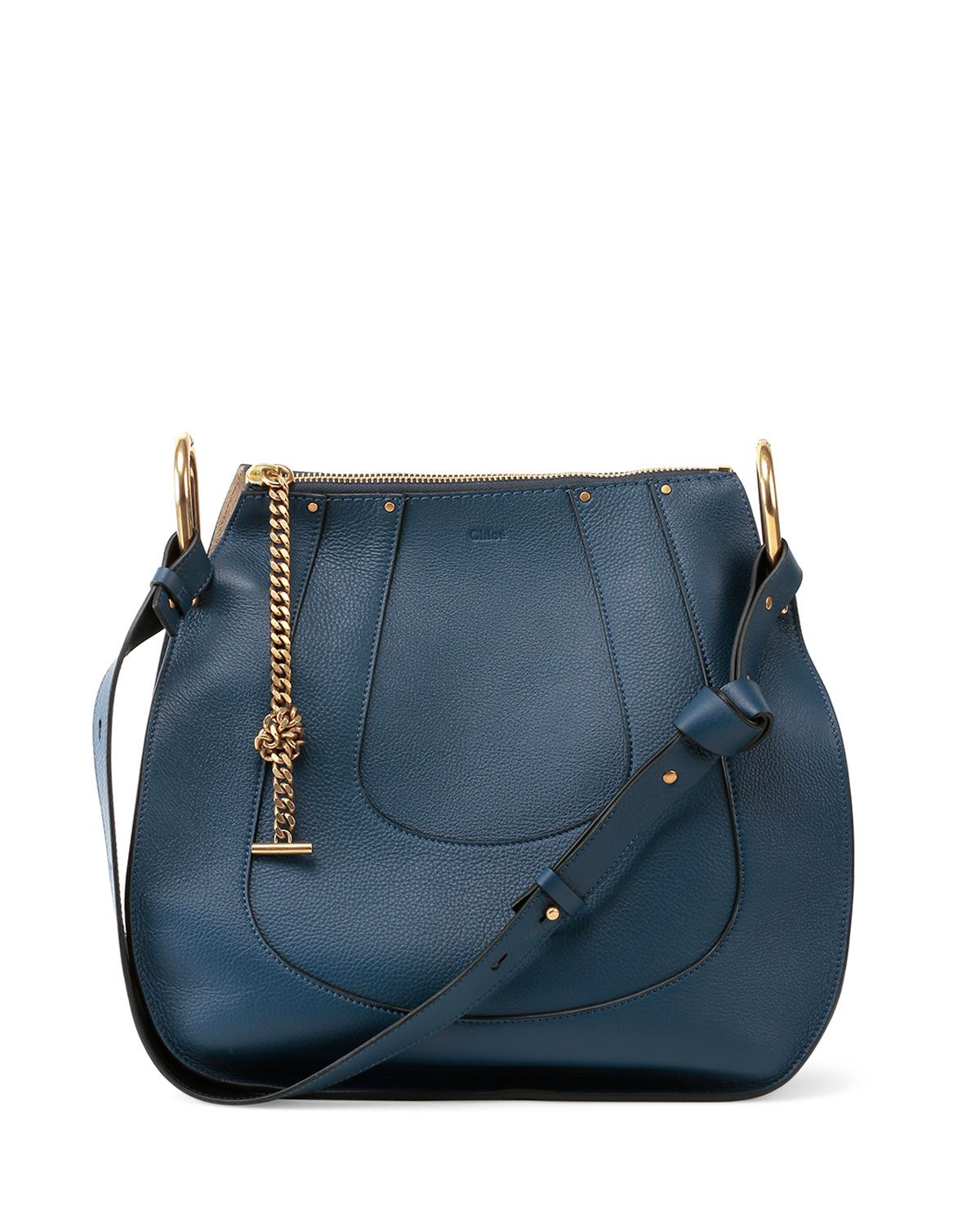 8a8c525e2 Chloe Hayley Small Hobo Bag, Navy - #justamoment, while I take this with me  to Barcelona, Spain for a tour around the city and finding delectable  eateries!