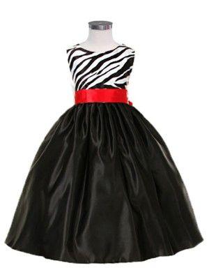 Zebra Print Party Dresses For Juniors 5