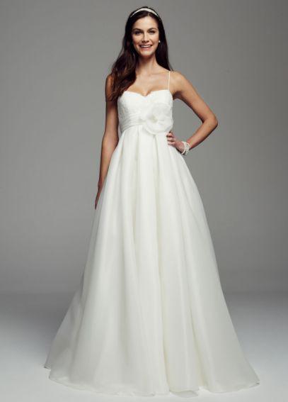 14c447df57f3 Spaghetti Strap Empire Waist Ball Gown - Davids Bridal. Spaghetti Strap  Empire Waist Ball Gown - Davids Bridal Chic Wedding Dresses, Formal Dresses,