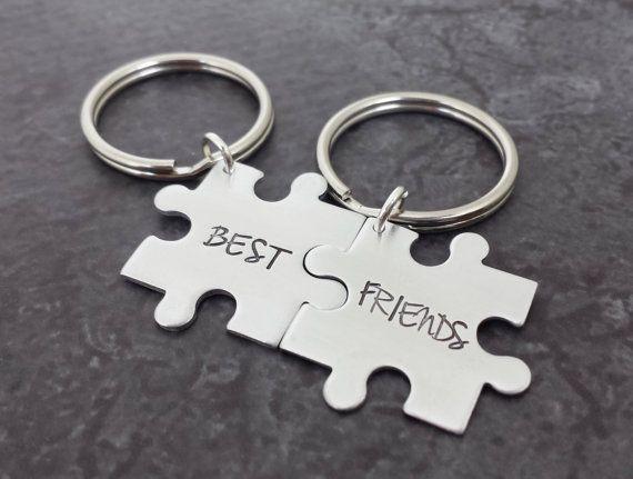 customizable puzzle piece keychain