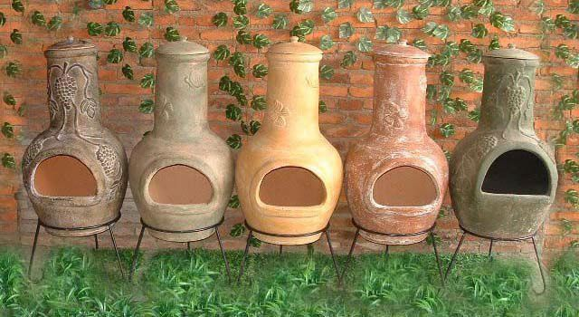 Handmade Chimineas Crafted Clay Chimineas Latest Handmade Clay Fire Pit Clay Chiminea Chiminea