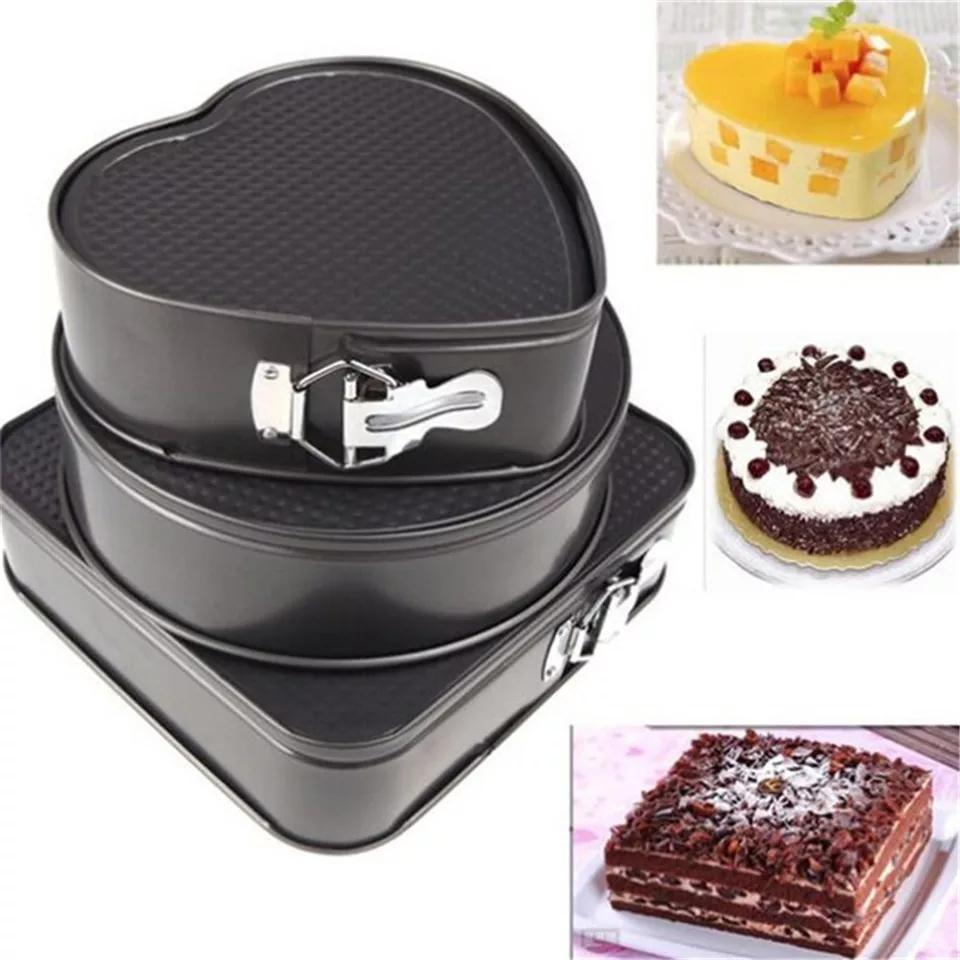 removable bottom cake pan vs springform pan