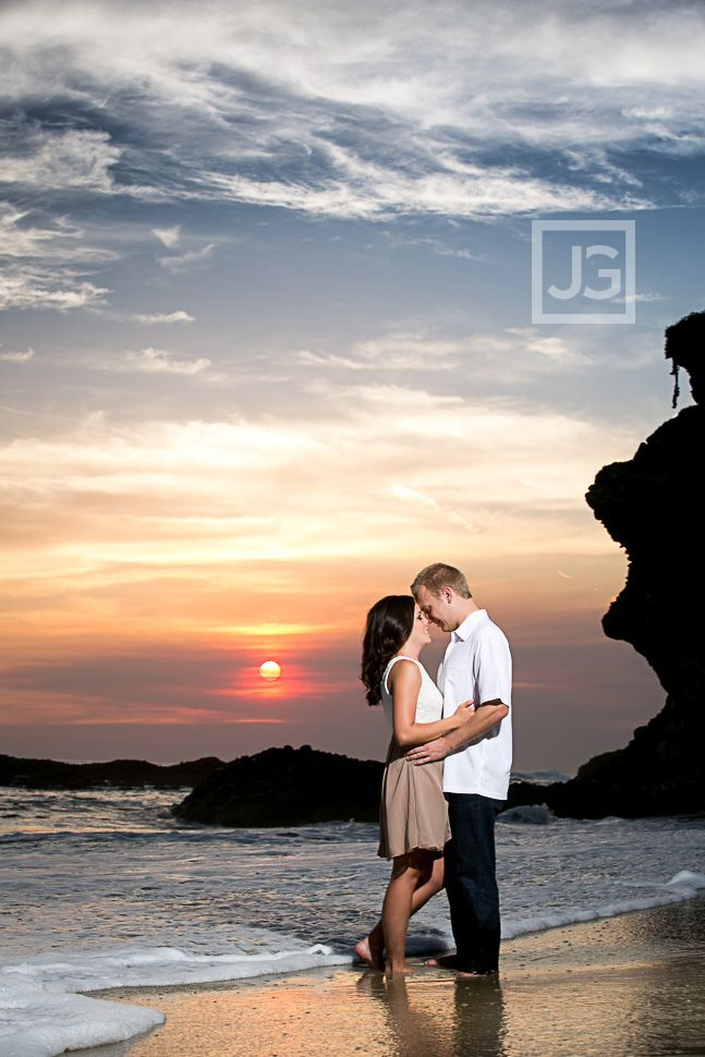 Beautiful shot!  laguna-beach-engagement-photography-0014