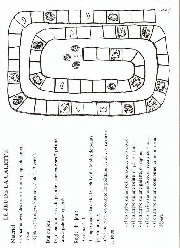 Autour de la galette teaching pinterest fle kings - Image roule galette imprimer ...