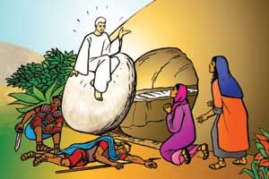 Who Is Jesus Part 1 Easter Sunday Resurrection Of Jesus Christ Rh Pinterest  Com Jesus Tomb Clip Art Black And White Jesus Tomb Clip Art Black And White