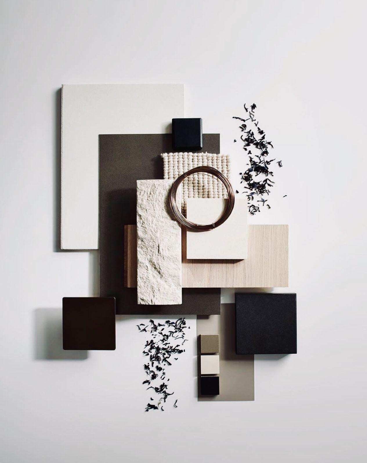 Concept Board Creative Mood Board Trends 2020 Interior Design
