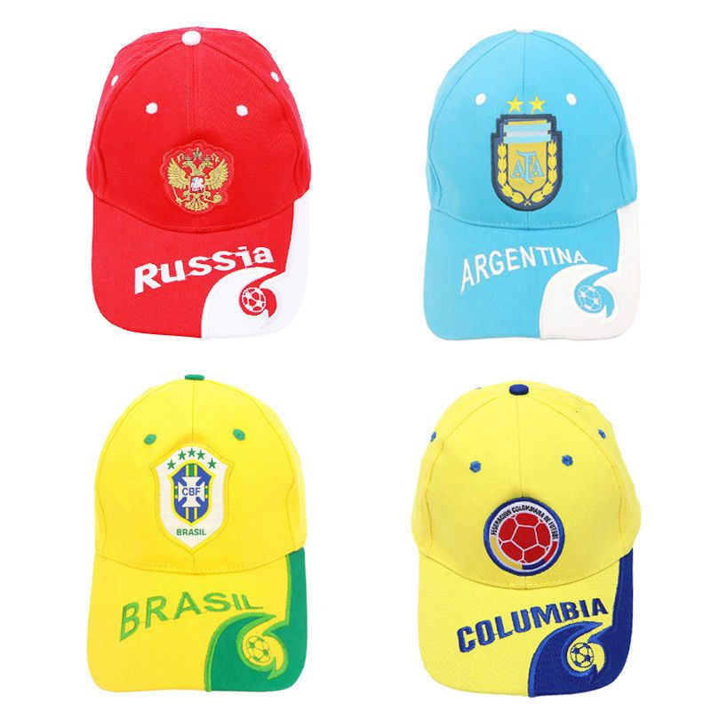 b054b843004 2018 Russia World Cup Football fans gifts baseball hats wholesale sun One  Size Discount Price 21.04