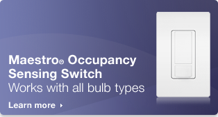 Lutron.com    Occupancy Sensing Switch