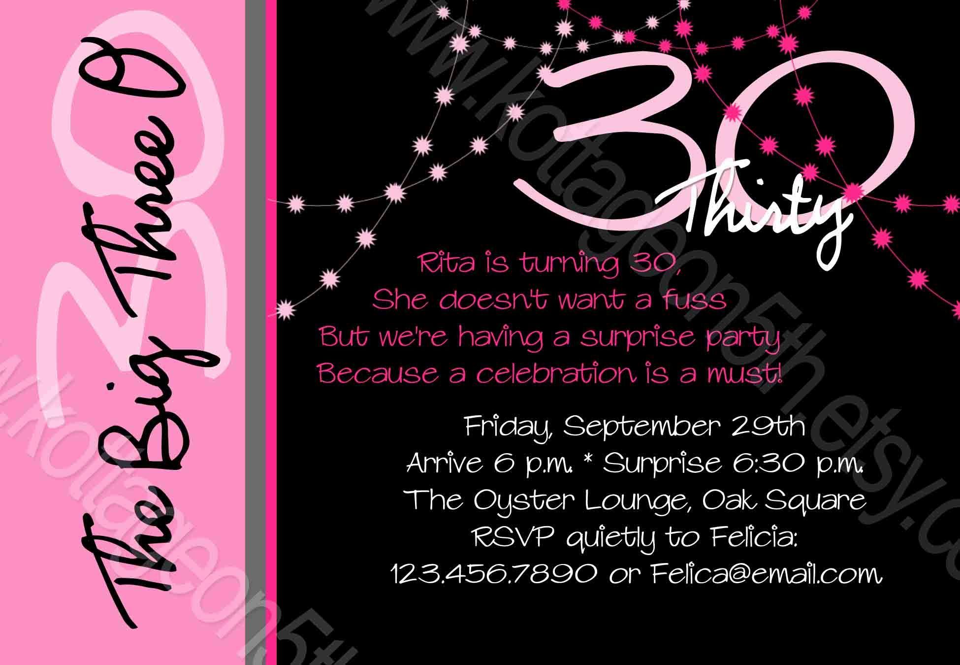 The Big One Pink - Milestone of Any Age - Printable Invitation ...
