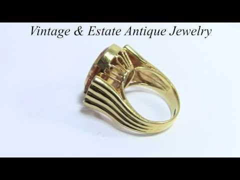 Citrine Diamond 18K Yellow Gold Ring Citrine Diamond Ring Jewelry - http://videos.silverjewelry.be/rings/citrine-diamond-18k-yellow-gold-ring-citrine-diamond-ring-jewelry/