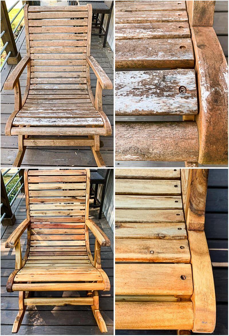 4 Steps To Restoring Teak Furniture Kaleidoscope Living In 2020 Teak Outdoor Furniture Outdoor Teak Chair Outdoor Furniture Makeover