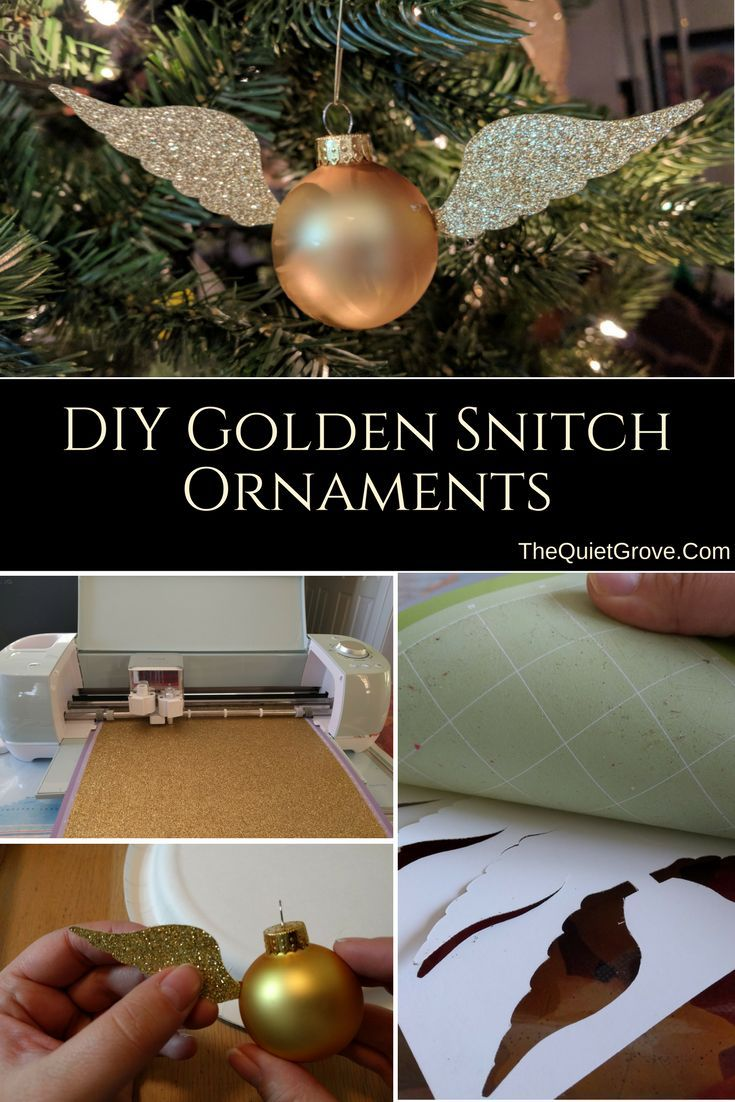 Photo of DIY Golden Snitch Ornament