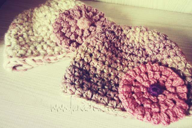 LUNAdei Creativi   Fiore con Punto Pop Corn a Crochet: Foto-Tutorial ...
