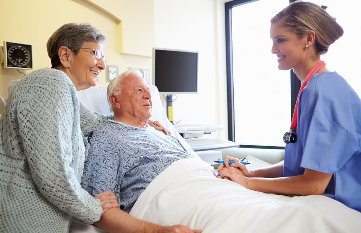 """""""If you're an older adult, you can know that the care team"""