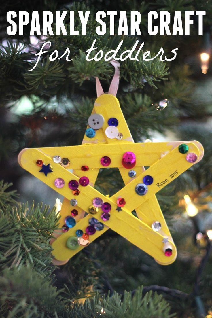 Sparkly Star Craft for Toddlers