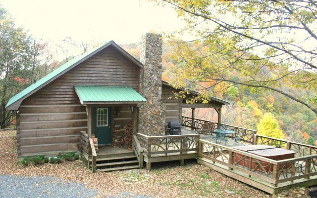 Private Dog Friendly Log Cabin Rental Near Boone Nc And