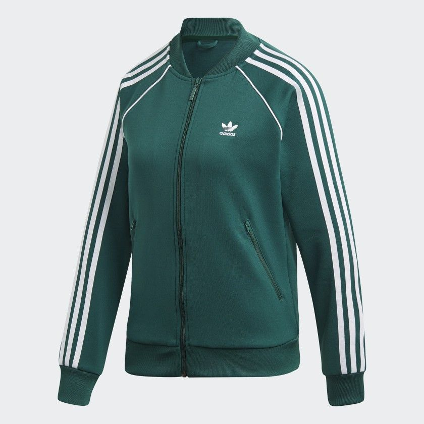 SST Track Jacket Collegiate Green