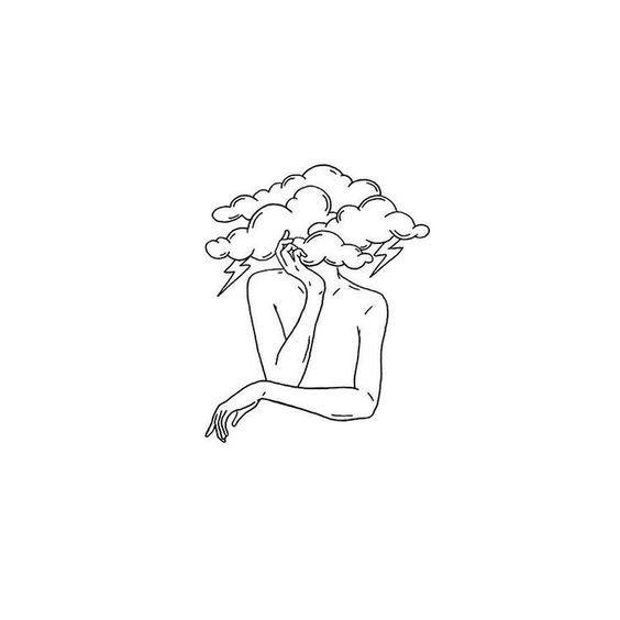 In meinem Kopf ist ein Sturm. ,,,,,, #blackworknow #dotwork #blxckink #i … Kunst #besttattooideas – diy best tattoo ideas #diytattooimages
