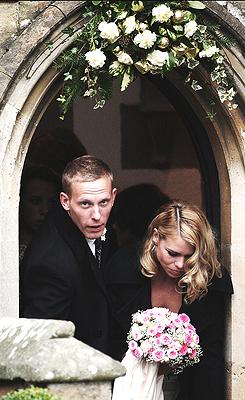 Billie Piper's Wedding; 31st December 2007 Billie piper