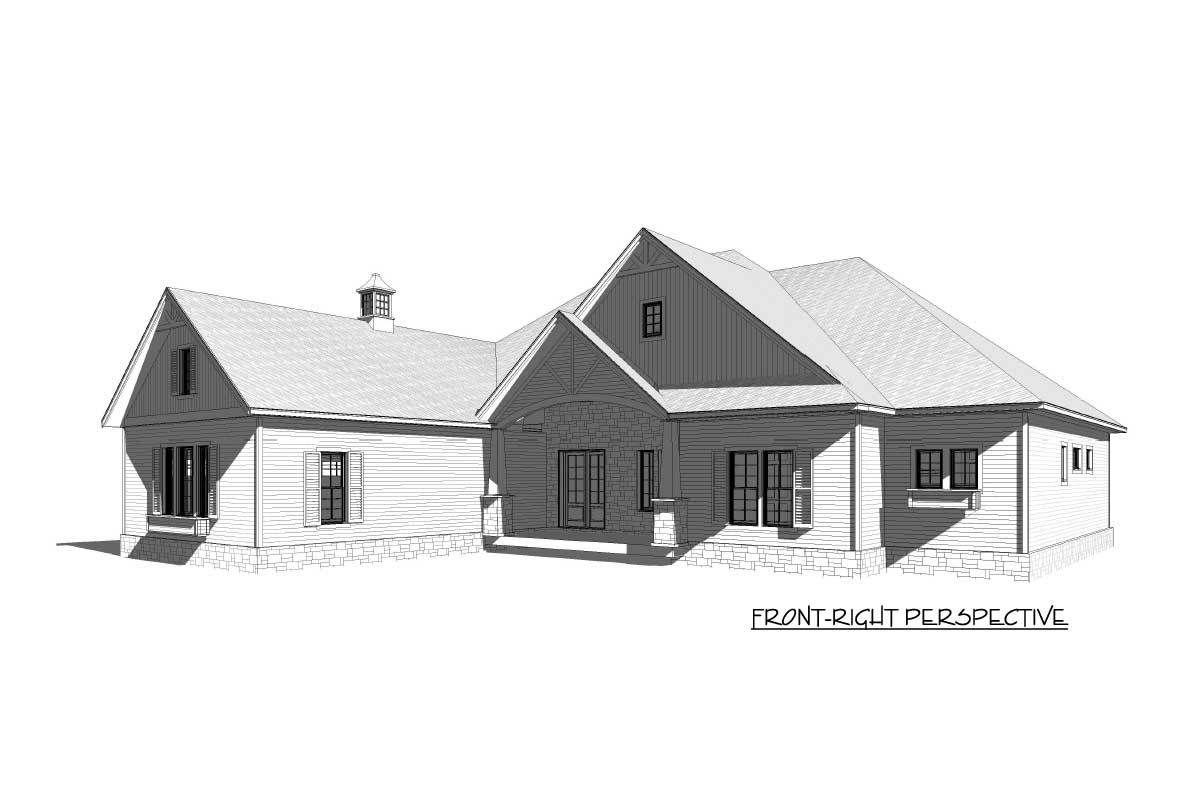 Eye-Catching Craftsman House Plan - 46294LA   Architectural Designs - House Plans