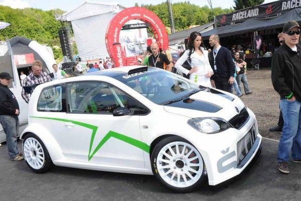 Skoda Citigo Rally Car Conept Unveiled At The 31st Volkswagen Gti