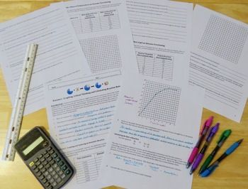 Enzymes Graphing And Critical Thinking Worksheet Science For
