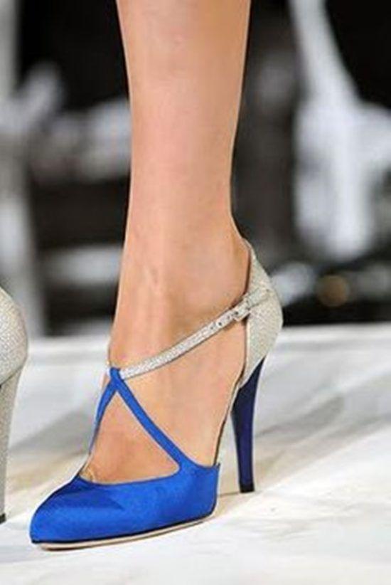 Kolorowe Buty Slubne 20 Inspiracji Wedding Pl Blue Wedding Shoes Trending Shoes Heels