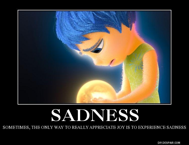 Inside Out Sadness By Boldcurriositydeviantartcom On At Deviantart