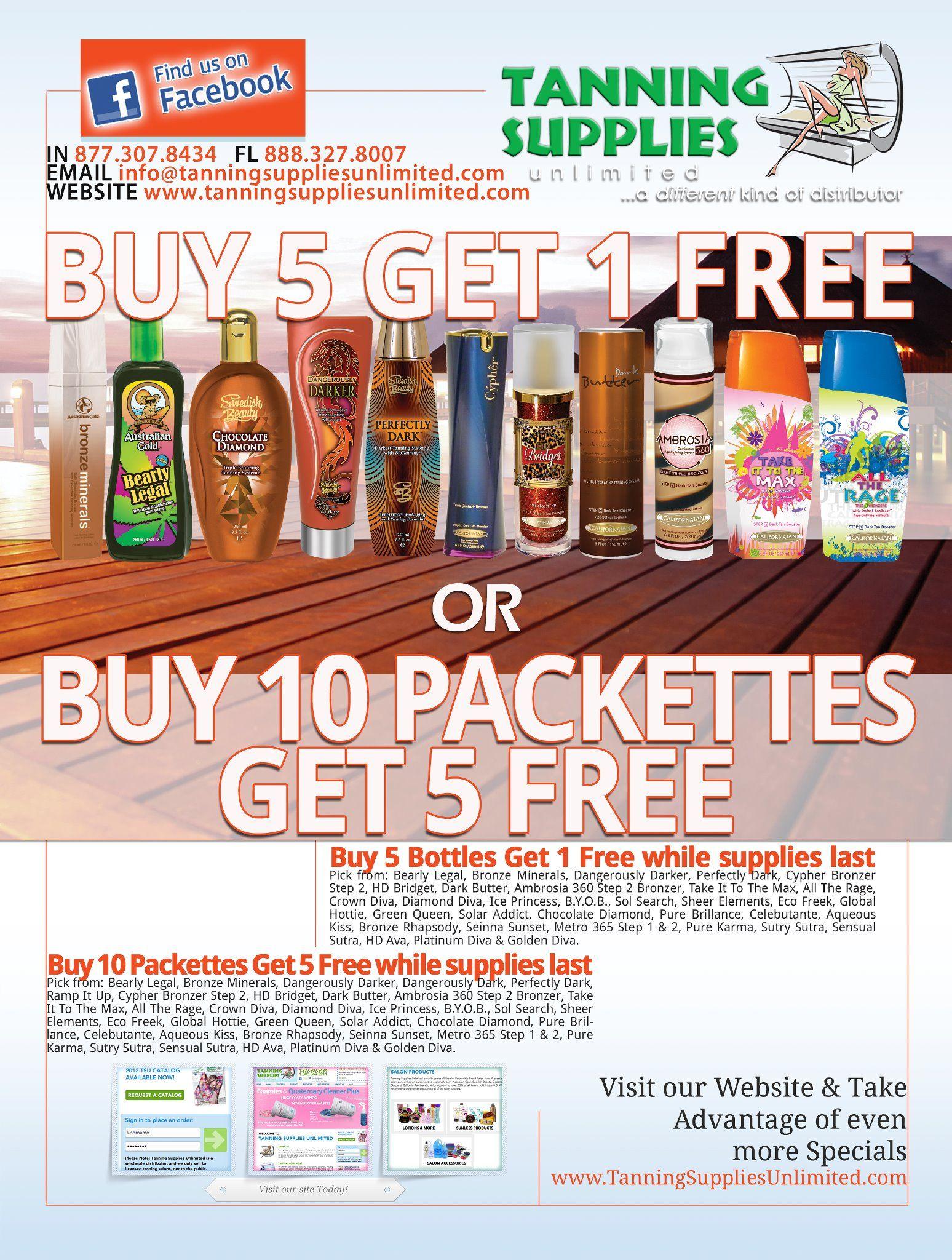 Shirt design supplies - Tanning Supplies Unlimited Magazine Ad Design