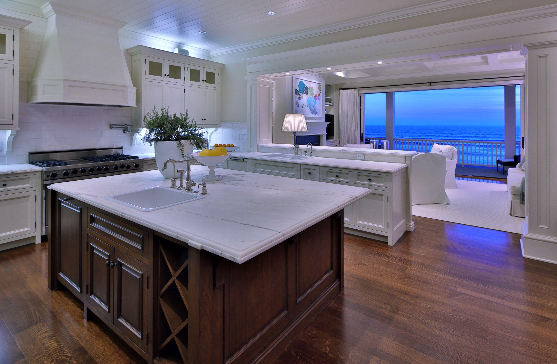 Open Concept Coastal Modern Luxury Home With Ocean View Kitchen Designs Layout Kitchen Design Gorgeous Kitchens