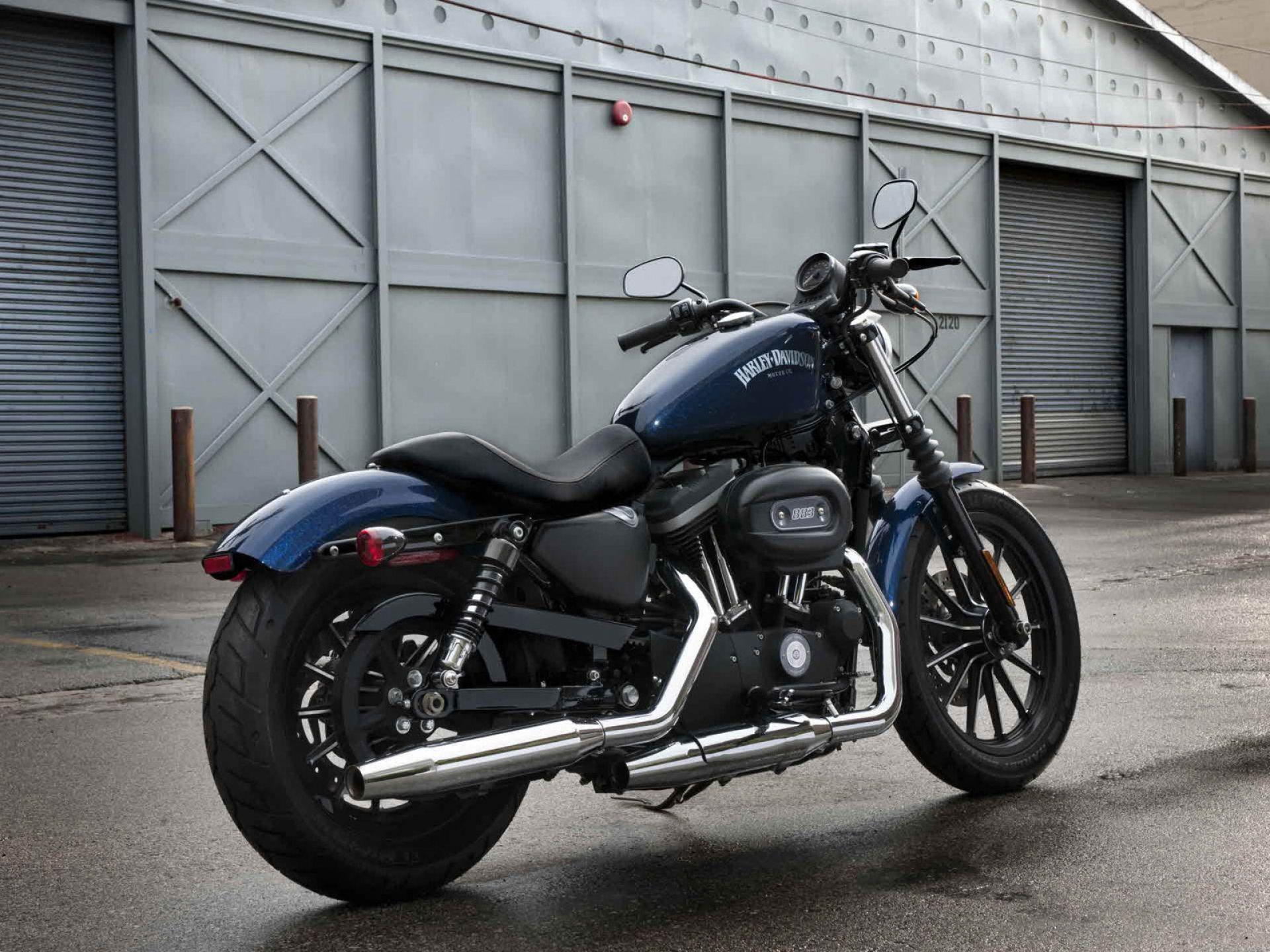 harley davidson iron 883 motorcycle hd wallpapers | coisas para