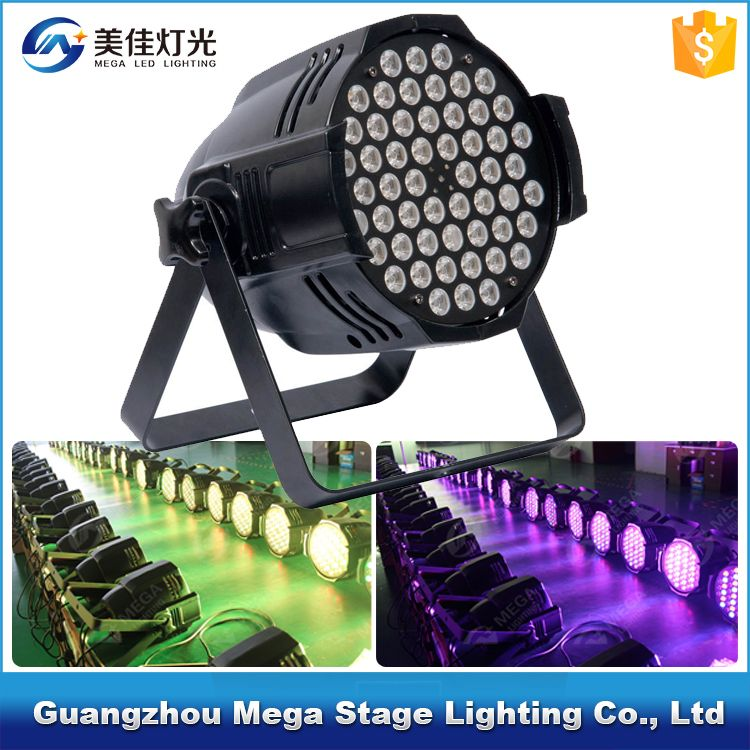 Used Stage Lighting For 54x3w Rgbw Mixing Led Par Light