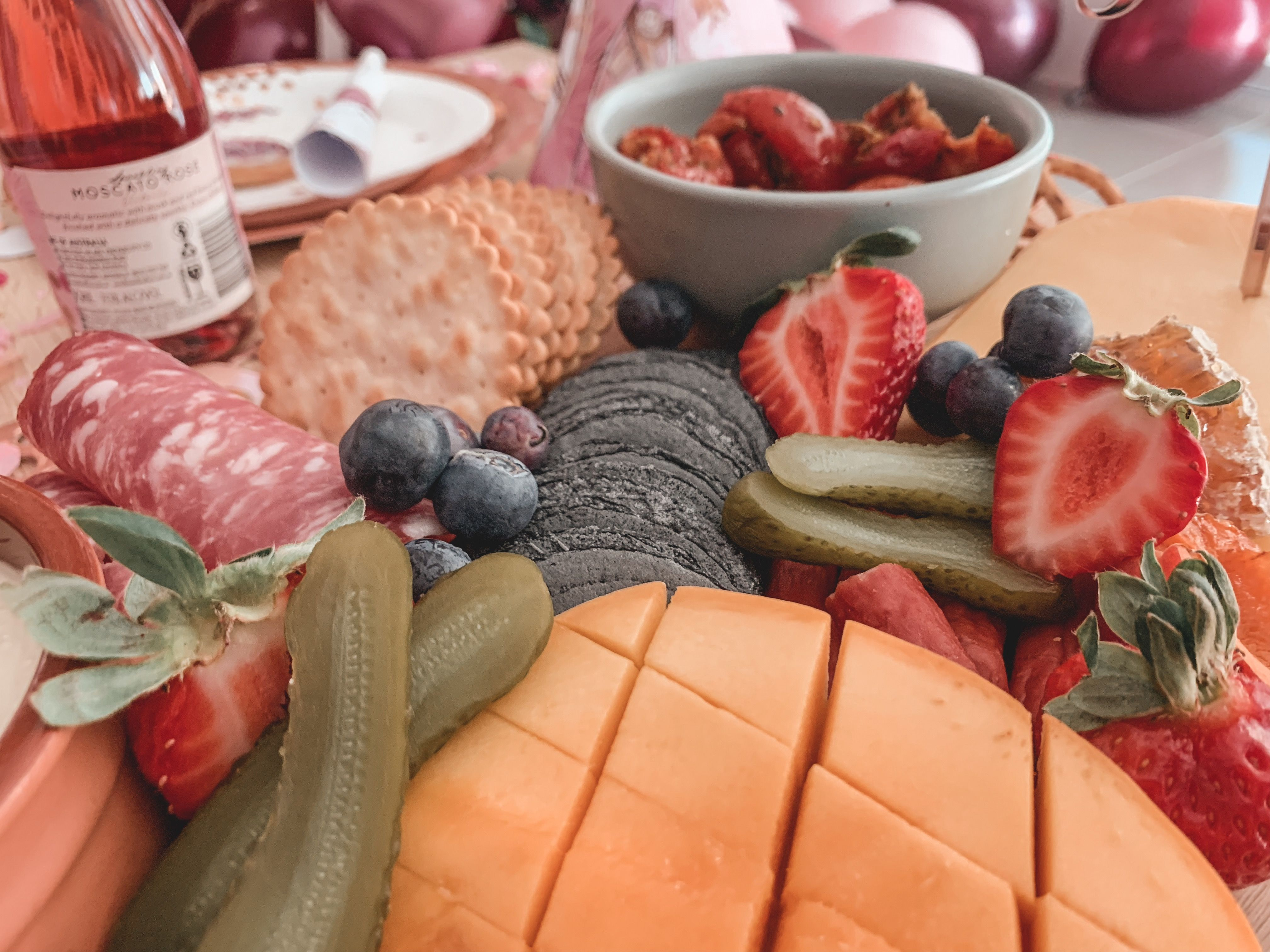 Grazing platters are ever popular right now, and perfect