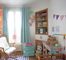 Chambre bébé fille : vintage et colorée - Fafaille Studio | Fafaille ...