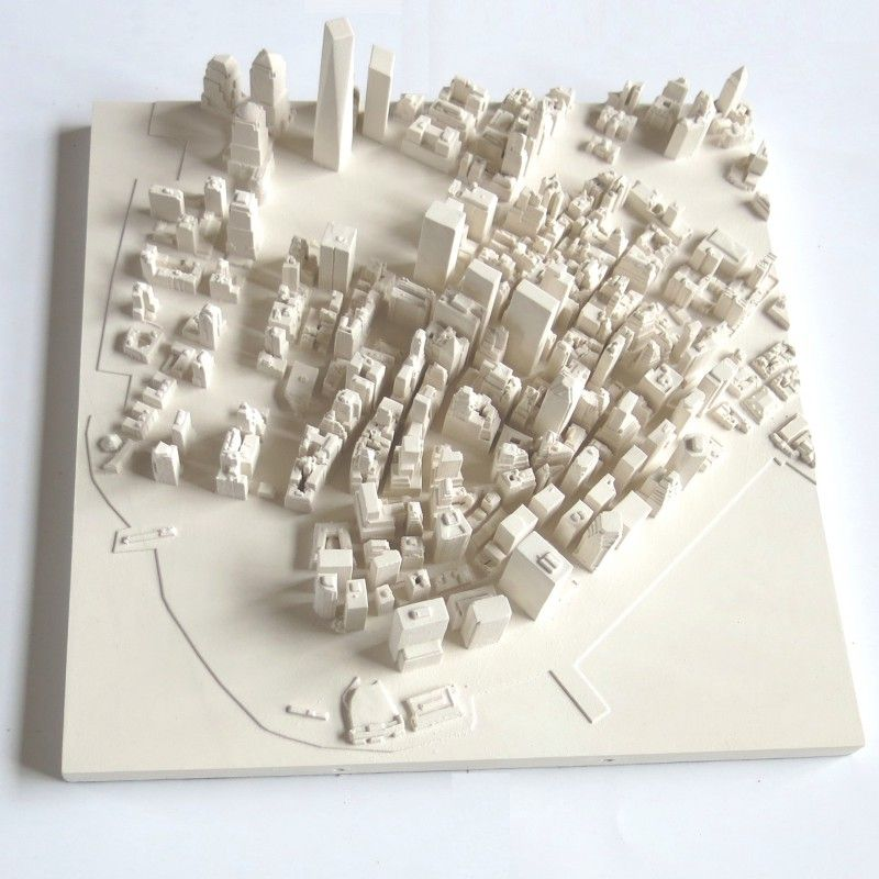 New York Vue du Ciel - Décoration Murale 3D 3d, Manhattan and