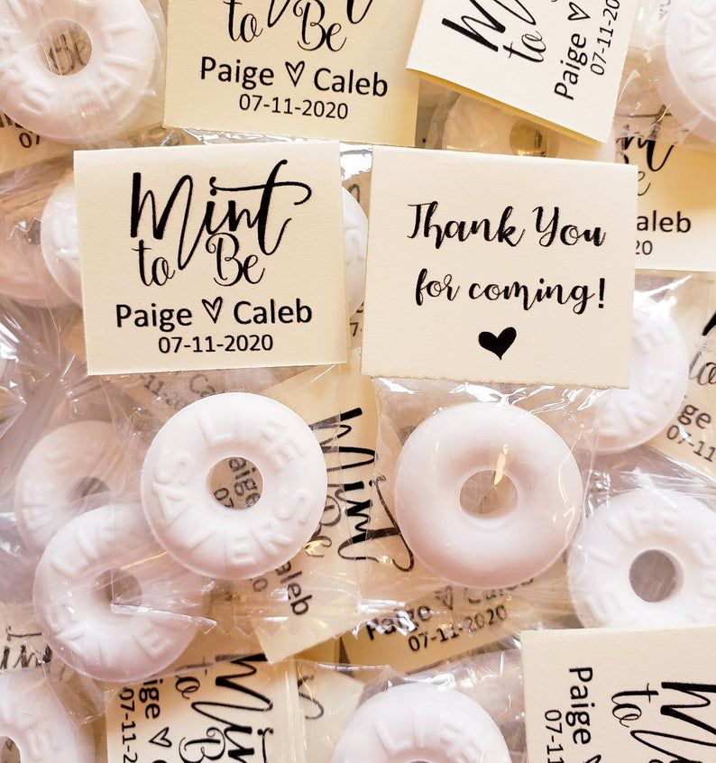 Mint To Be Wedding Favors Lifesavers Mints For Guests Cheap In Etsy In 2020 Party Labels Wedding Favors Mint Wedding