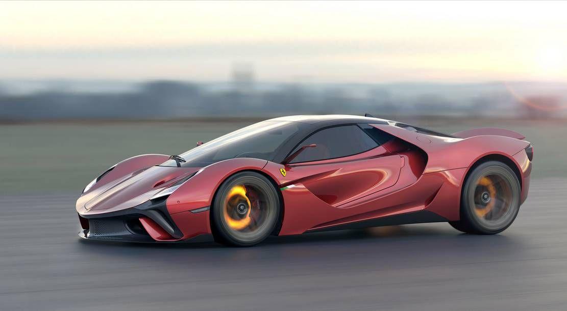 Ferrari Stallone Concept Supercar Wordlesstech In 2020 Super Cars Concept Cars Ferrari