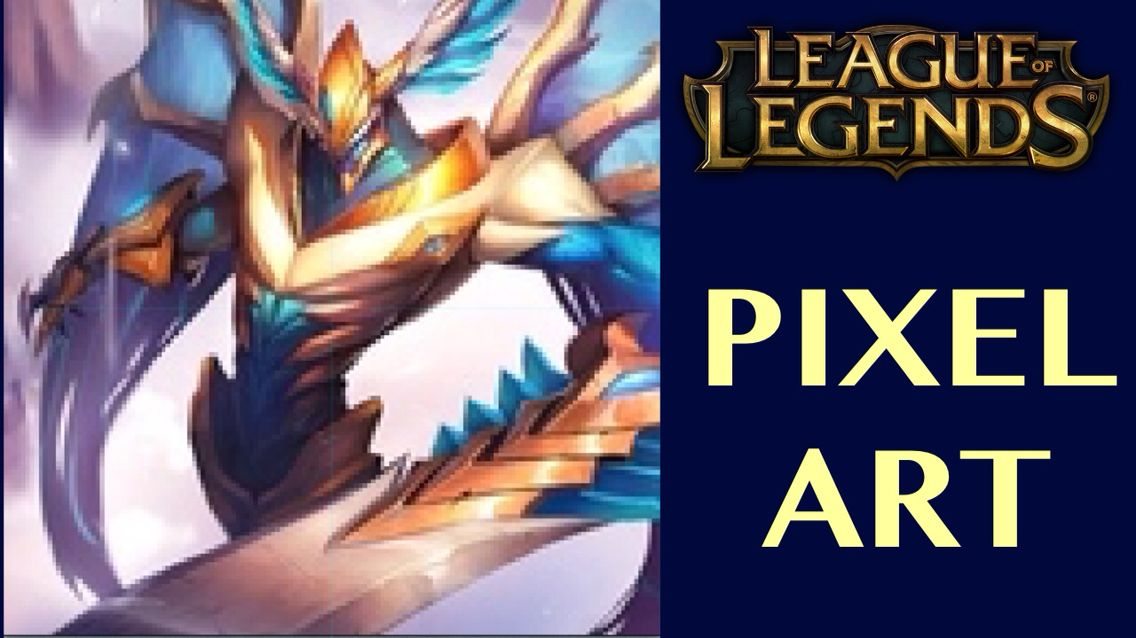 A new League of Legends pixel art video is live at my channel www.youtube.com/pete4725