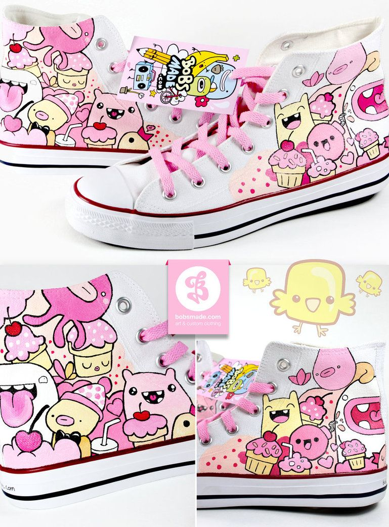 Sweet Friends Shoes by Bobsmade on DeviantArt